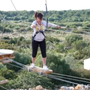 menorca high ropes course