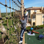 tui ropes course Menorca