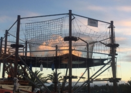 high ropes course lanzarote