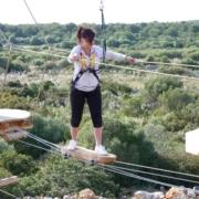 menorca high ropes course