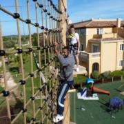 tui ropes course Menorca